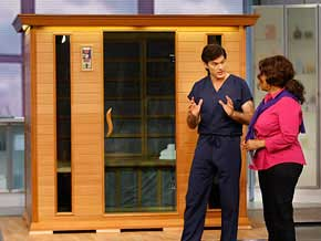 Dr. Oz and Oprah Sauna