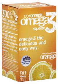 Coromega product review for Lovaza fish oil