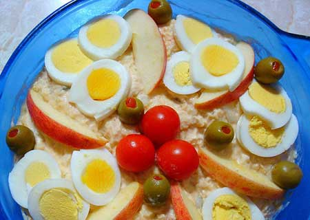 Foods with choline