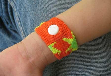how to use sandek wrist band