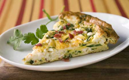 Easy low carb egg bake recipe