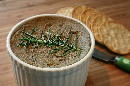 Shrimp brain pate recipe